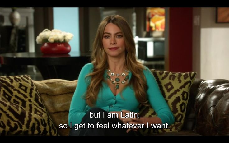 Sofia Vergara Funny Quotes: The Female Gaze: Stereotypes In Modern Family