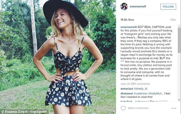 Essana O'Neill + comment