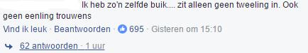 facebook reactie beyonce